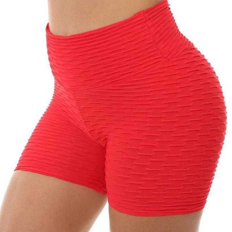 Femmes solide élastique Sport Legging Sexy Yoga Fitness transparente Shorts travail Quick Dry Out Leggings Gym Femme Collants running