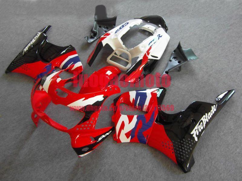 Nuevas piezas de moto caliente carenado kit para negro blanco rojo de Honda CBR900RR 1996 1997 carenados de plata negro Conjunto CBR900RR 893 96 97 carenado de carrocería