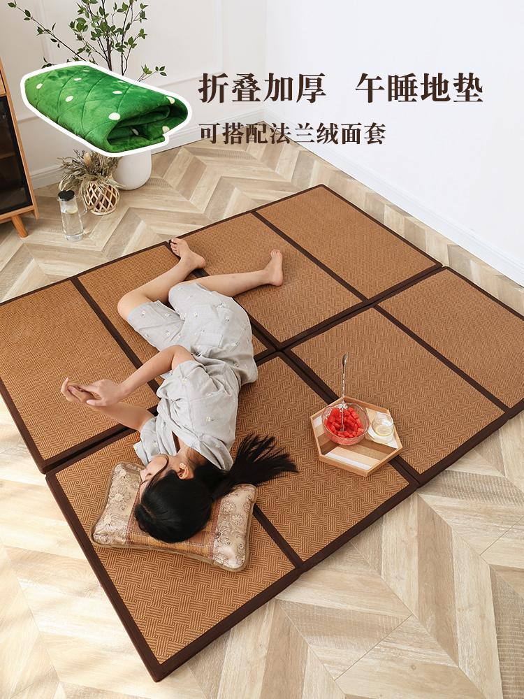 Ковер Татами в японском стиле складной Мат Мат Ковер Спальня Гостиная Детская Тумбочка сгущает Mat Самодельная кровать