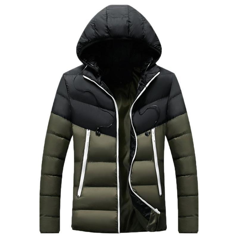 Hawcoar 5 colori di inverno degli uomini con cappuccio Outwear Softshell impermeabile antivento del cappotto Soft Shell giacche per Maschio 2020 New Fashion