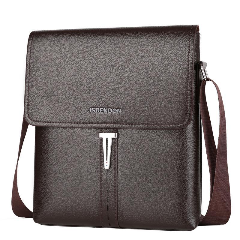 2020 Handbag Men's Leather Tote Bag New Fashion Mens Bag Men Business and Leisure Briefcase Bags