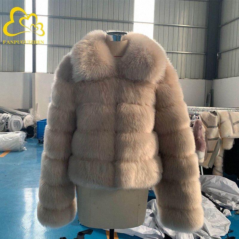 Зимы женщин вскользь Artifical норки вскользь женщина теплая Поддельный Шуба Теплый Толстые Женщины дамы Плюшевые пальто RJ07 #