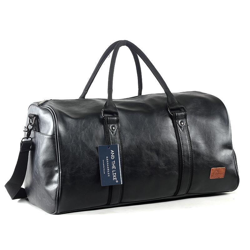 Дизайнер-Многофункциональная дорожная сумка большой емкости Gripesack Унисекс багажа Косой пакет Износостойкий Черный Завод прямых продаж