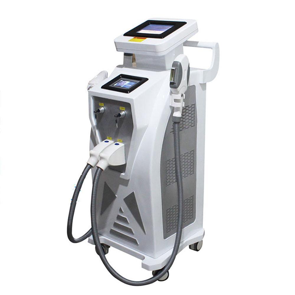 Yeni 4 in 1 IPL Elight Epilasyon Lazer IPL Opt Dövme Akne Pigment Kırışıklık Vasküler Temizleme Cilt Gençleştirme Makinesi