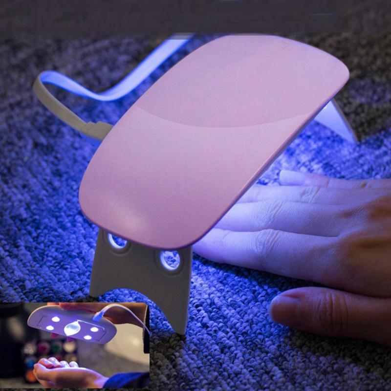 BellyLady 5V/6W Nail Dryer UV Nails Lamp for Manicure Dry Nail Drying Gel Lamp LED Portable Art Tools