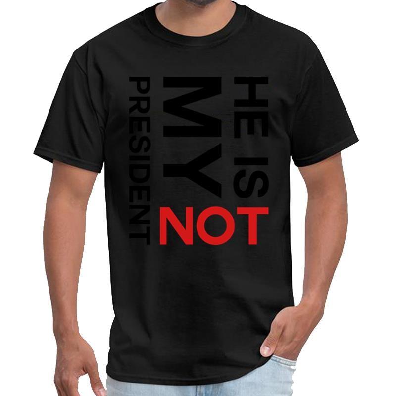 Personalidade Trump não é o meu presidente Anti Trump shin chan camisa mar feminino masculino de ladrões t camisa 3xl 4xl 5XL slogan