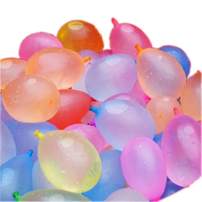 Injection Eau extérieure Happy Summer Magic Enfants Eau petit ballon Nouveau Seau à ballon pratique Toy Couleur Ekoax