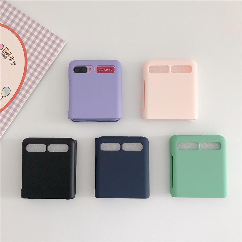 삼성 갤럭시 Z 플립 F7000 전화 보호자 개의 색 하드 케이스에 대한 휴대 전화 케이스 액세서리