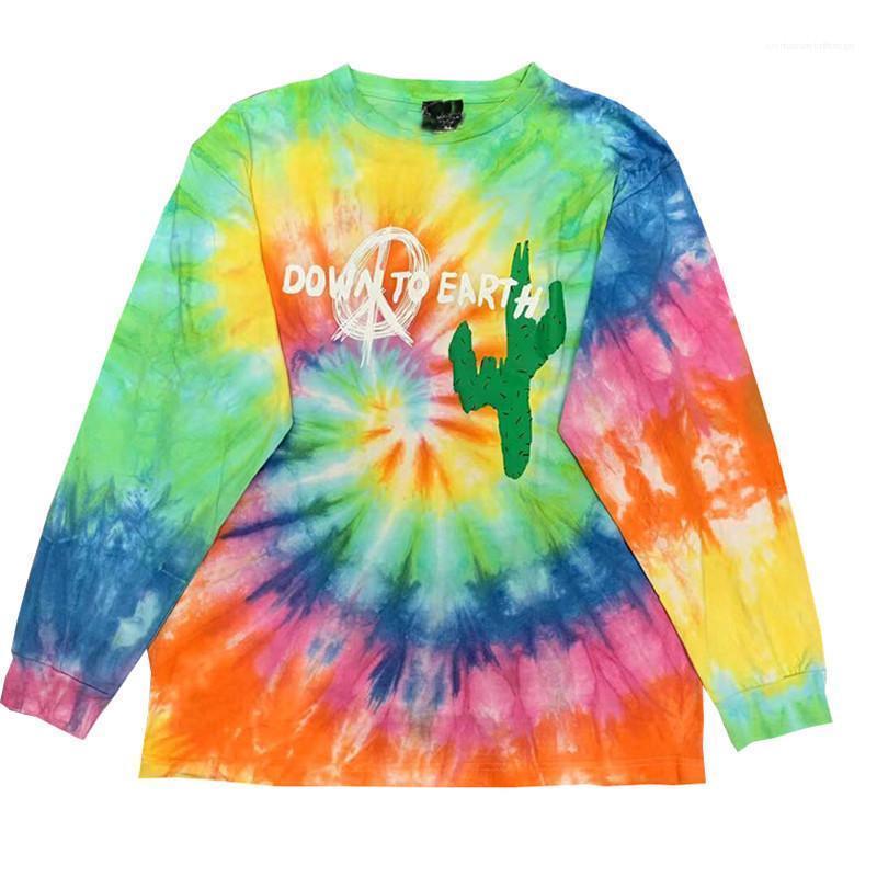 Tees informal suéter pareja suelta otoño ropa para hombre del teñido anudado sudaderas Diseñador TS DOVER estrella