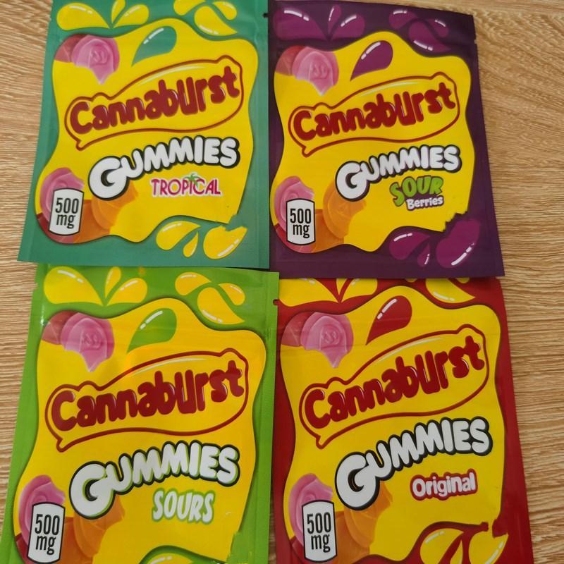 Medicado Caramelo Bolsas empollones prueba de Starburst Embalajes Mylar libre del bolso ojivas DHL Gummies cuerda bolsas de vacío 408 mg Airhea Smell oGSGD