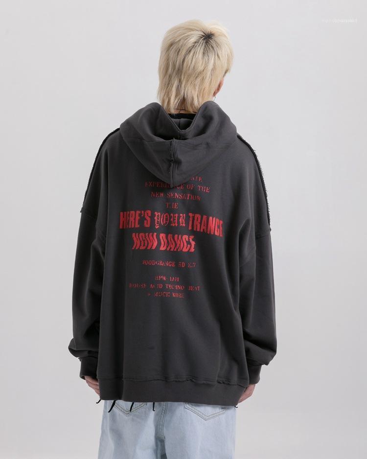 Улица Стили Негабаритные женщин толстовки Роскошные вскользь Пары Matching Одежда Мужская мода Дизайнер пуловер Толстовки HipHop