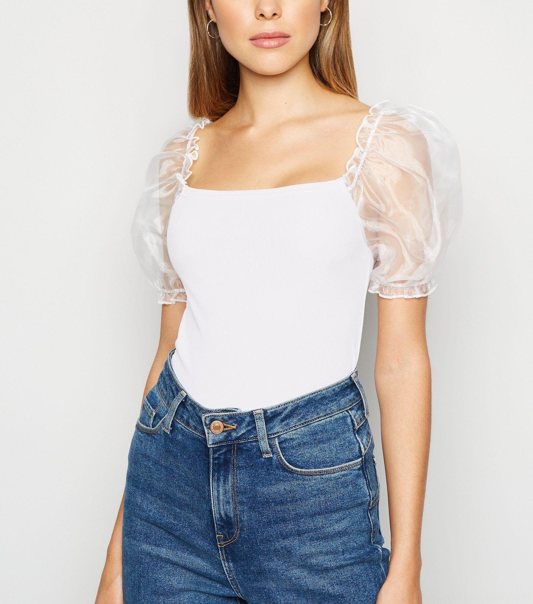 MrGiW 2020 kovanı organze kabarcık Seksi Coat Slim kısa kollu 2020 organze kabarcık Kadın Seksi Top Coat tişört Kadın Dar kesim shor uygun r3cqj