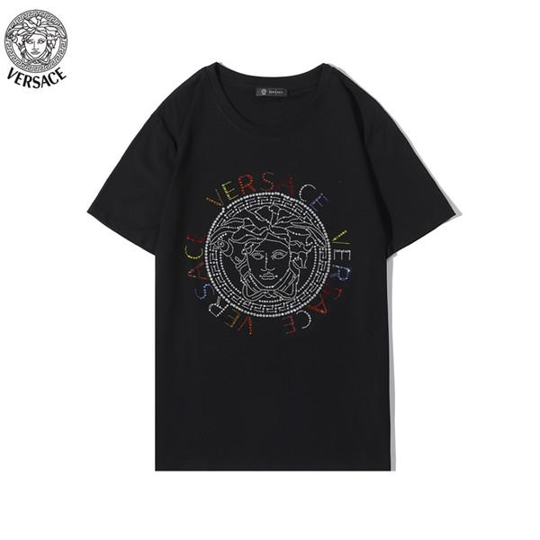 2020 Mode-T-Shirt Spitze der Männer Schädel Rhein-T-Shirt Sommer-verursachende Top Short Sleeve Short Sleeve Tees Kleidung