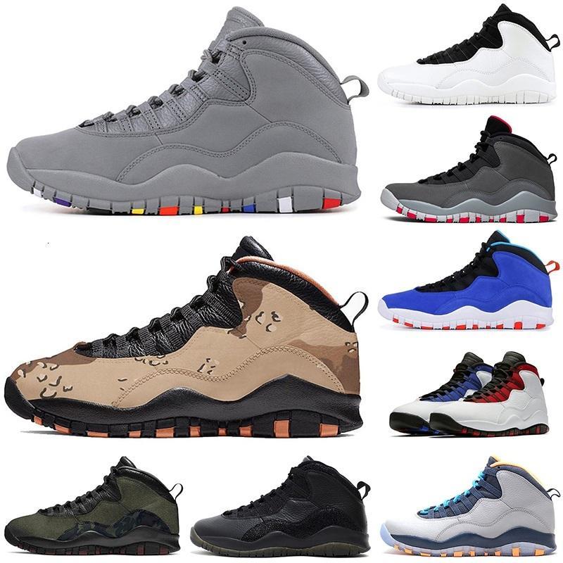 chaussures de basket-ball pas cher 10 10s blanc gris noir bobcats Westbrook Classe 2006 Chicago Im dos chaussures de sport des hommes de sport Athletic 7-12