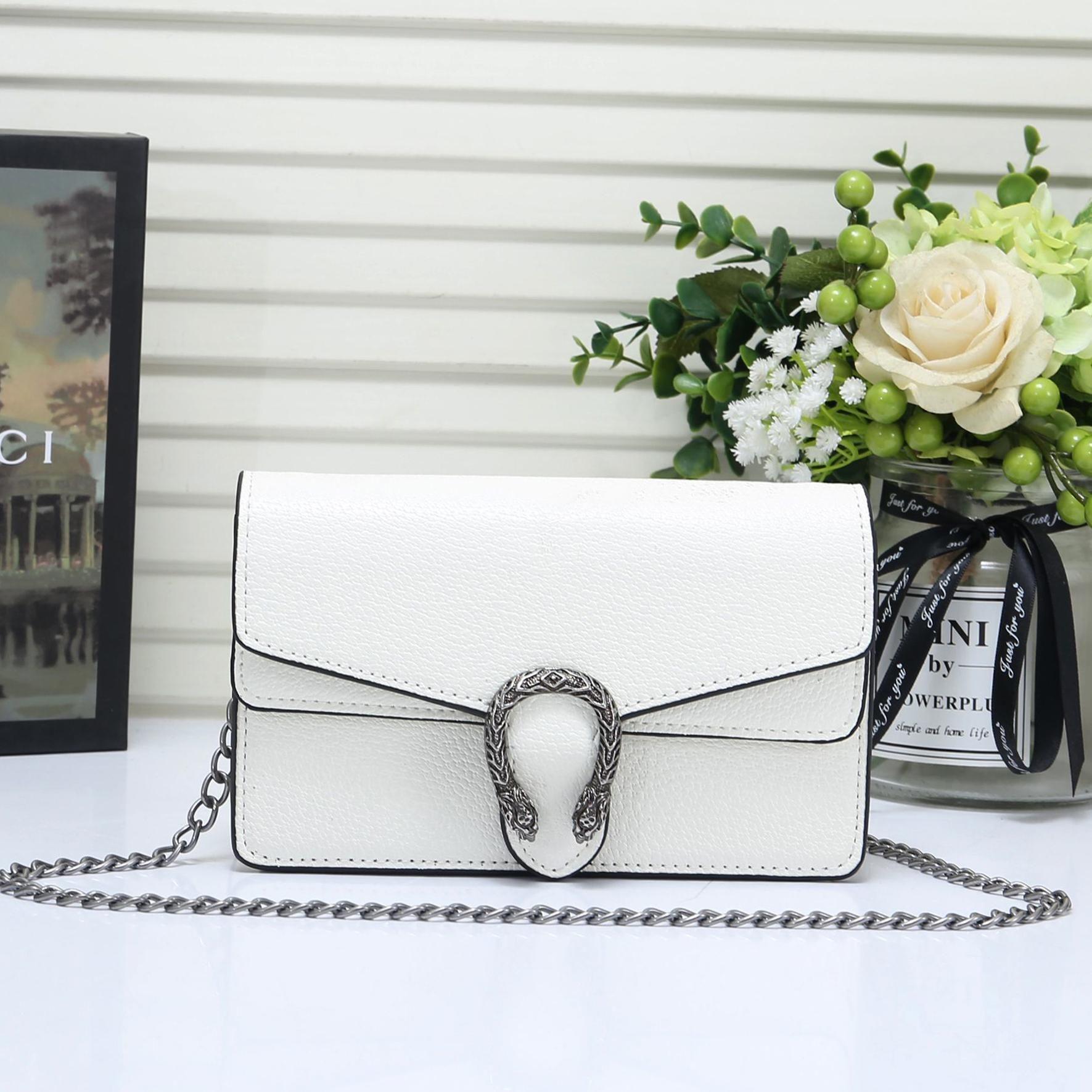 New Riefsaw style vintage sac femmes de mode classique chaîne en cuir Sac bandoulière épaule à rabat Designer de luxe Lady Messenger Sacs Vente