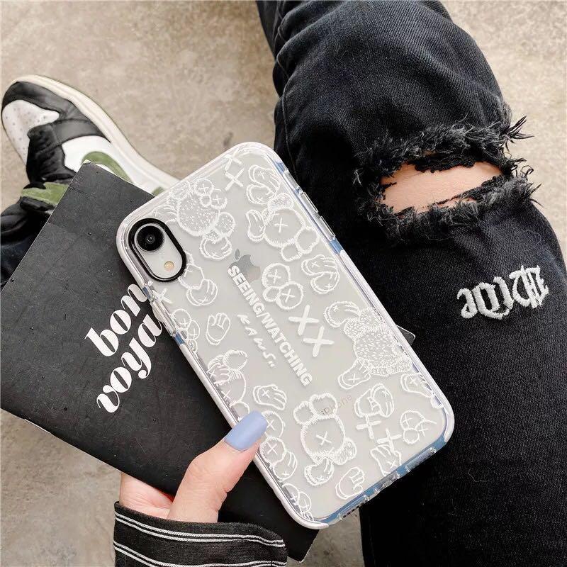 Designer-Telefon-Hüllen-Abdeckung für iPhone 11 11 Pro Max Xr Xs MAX 7 8 Plus Fall Brief Printing Luxuxtelefonkasten