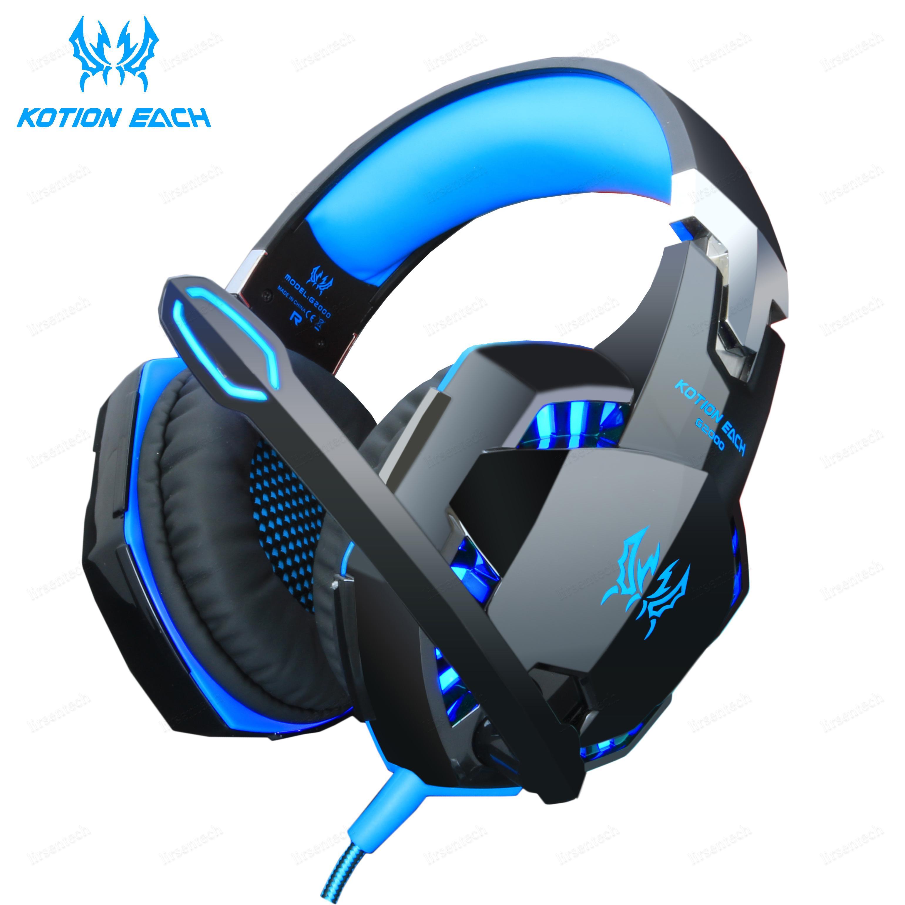 Universal Gaming LED incandescência Headset 3,5 milímetros Oem 7.1 Móvel Headphone Gaming Headset Com cabo do microfone Para Gaming Para Ps4 New Xbox Jogo PC