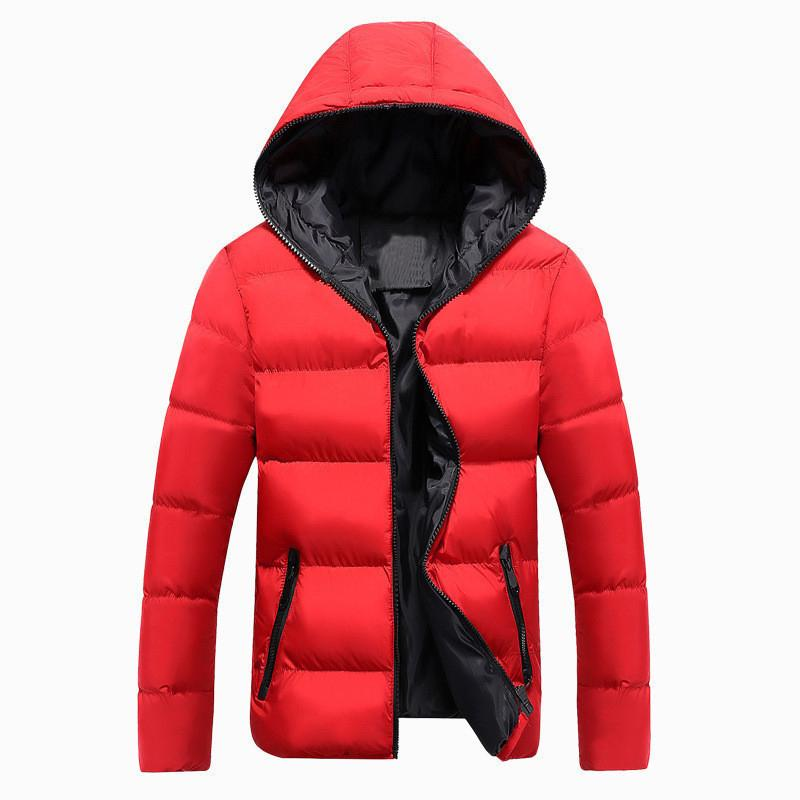 2020 Nouveaux vestes Hommes Hiver Casual Outwear Windpbreaker Jauquetta Masculino Solide Slim Fit Capuche Sweetboats Homme Plus Taille X1025