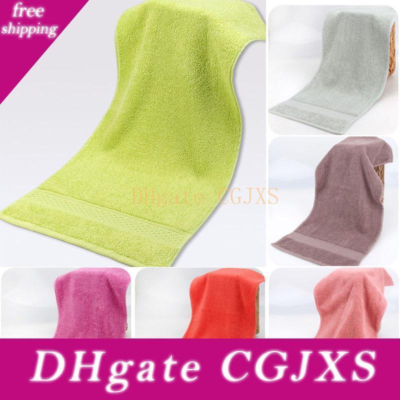 Cotone Asciugamani molle eccellente forte assorbente asciugamani Uomo Donna Bambino Bagno viso asciugamani casa Forniture Alberghiere WX9 -1059