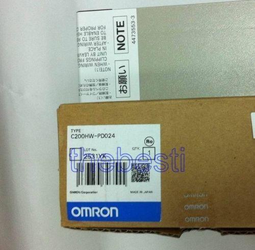 1 PC جديد اومرون C200HW-PD024 PLC وحدة في صندوق
