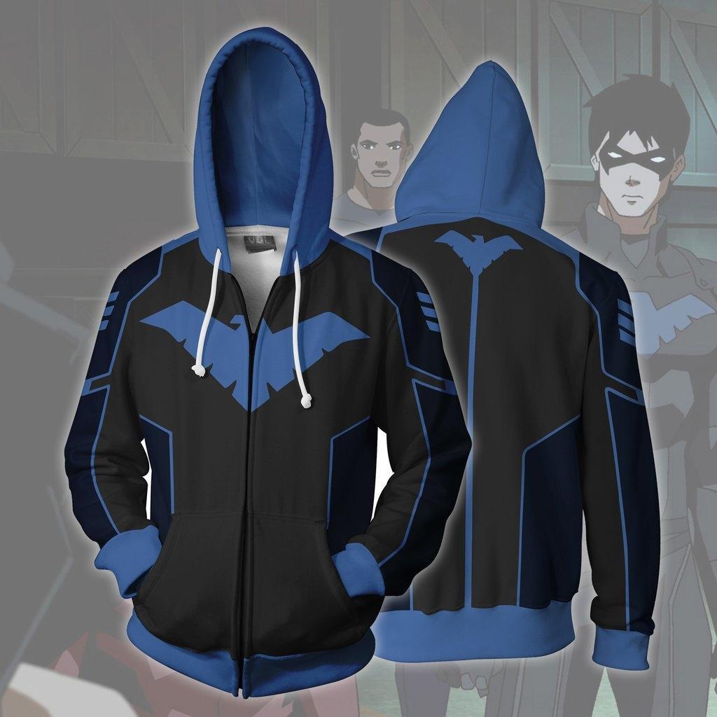 خدمة الملابس 4UQ6N oS1NS DC heroPlay 3D المطبوعة coswear خدمة DC heroPlay روبن روبن الملابس سترة 3D المطبوعة cosplaywear سترة