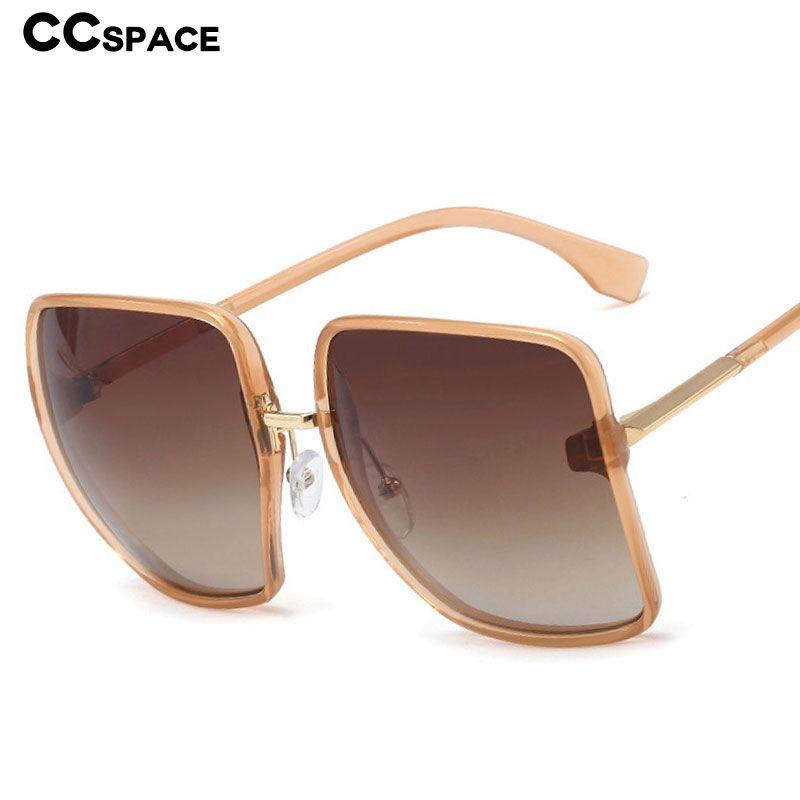 Vintage surdimensionné 48219 Lunettes Sunglasses Hommes Femmes Mode Shades UV400 Goggle Square Thmoj