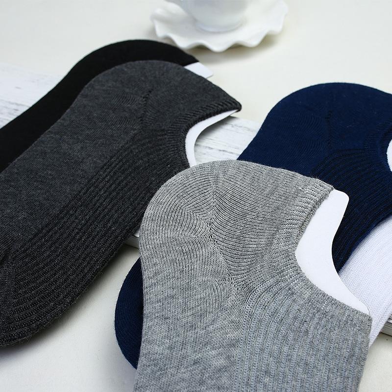 dreyb Erkek bahar ve yaz pamuk yeni koyu model görünmez Silikon görünmez kaymaz çoraplar silikon erkek çorapları 497
