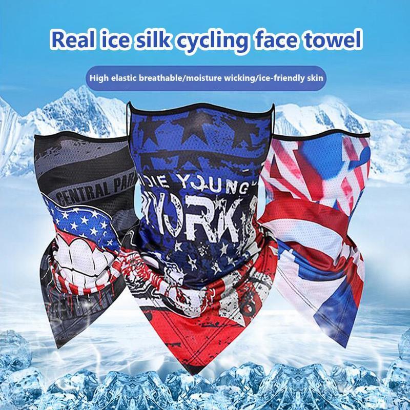 Magia la bandera nacional de la bufanda de los hombres de ciclo de la motocicleta del pasamontañas cabeza bufandas al aire libre a prueba de viento Deportes Cinta de cabeza del calentador del cuello Pañuelos