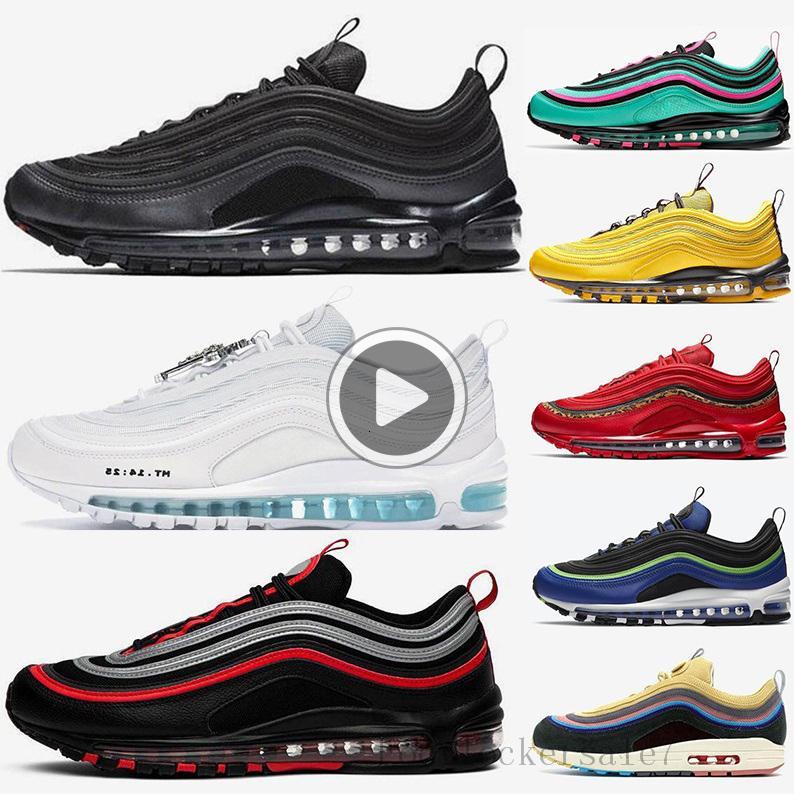 97 nero pallottola Sean Wotherspoon Scarpe 97s donne di sport da jogging le scarpe da tennis a piedi Escursioni cuscino scarpe da Outdoor Chaussures XIGD esecuzione