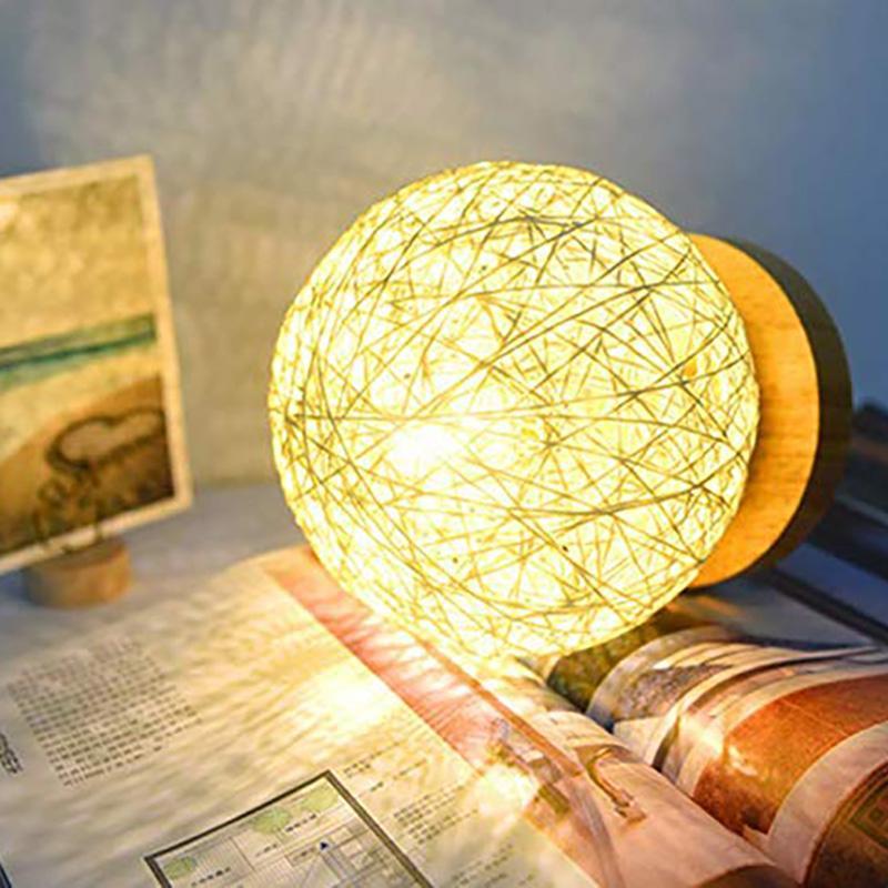 USB LED Desk Lamp Table luz de cabeceira lâmpada quarto Decoração Night Light criativa aniversário caçoa o presente decorativa Lâmpada de cabeceira