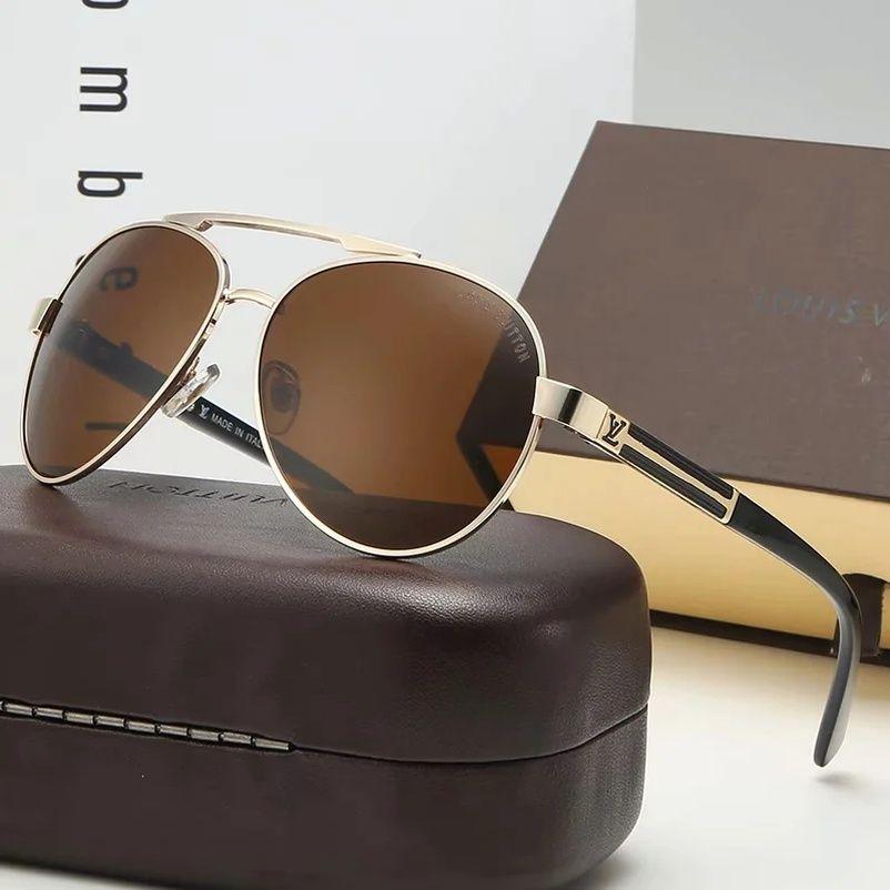 Le concepteur de lunettes de soleil pour hommes lunettes hommes surdimensionné des lunettes de soleil lunettes de soleil aviateur TF2