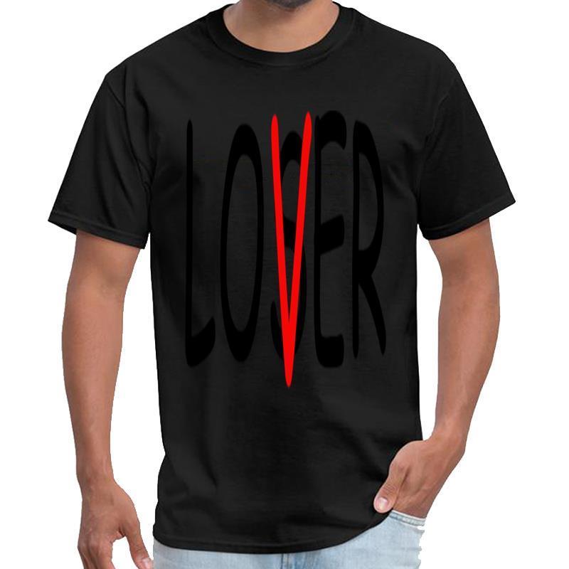 Personality Verlierer Liebhaber Shirt Vintage T-Shirt Männer Frauen Männer T-Shirt und Streetwear Größen S-5XL-stück