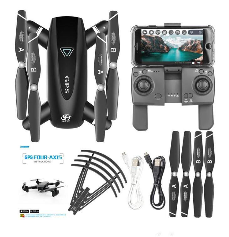 2020 GPS RC الطائرات بدون طي كوادكوبتر مع 4K HD كاميرا 5 جرام wifi fpv 1080p rc هليكوبتر مع كاميرا 4 قناة rc طائرة