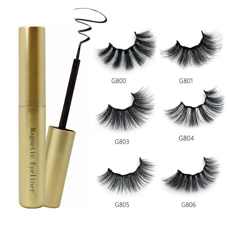 NEW Magnetic Liquid Eyeliner Set For Magnetic Eyelashes For Women Eye Makeup Beauty Tool Kit