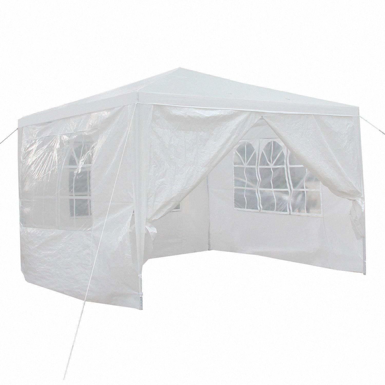 Canopy Tente de mariage en plein air Gazebo Pavillon Cater Événement de Noël XzAD # 10'x10'