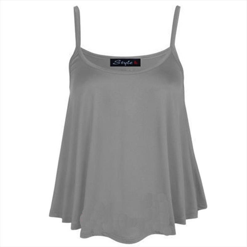 Tank Top verano de las mujeres ocasionales Camisolas tops para mujer del tirante de espagueti del chaleco recortada Mujer Camis de moda T Femenino