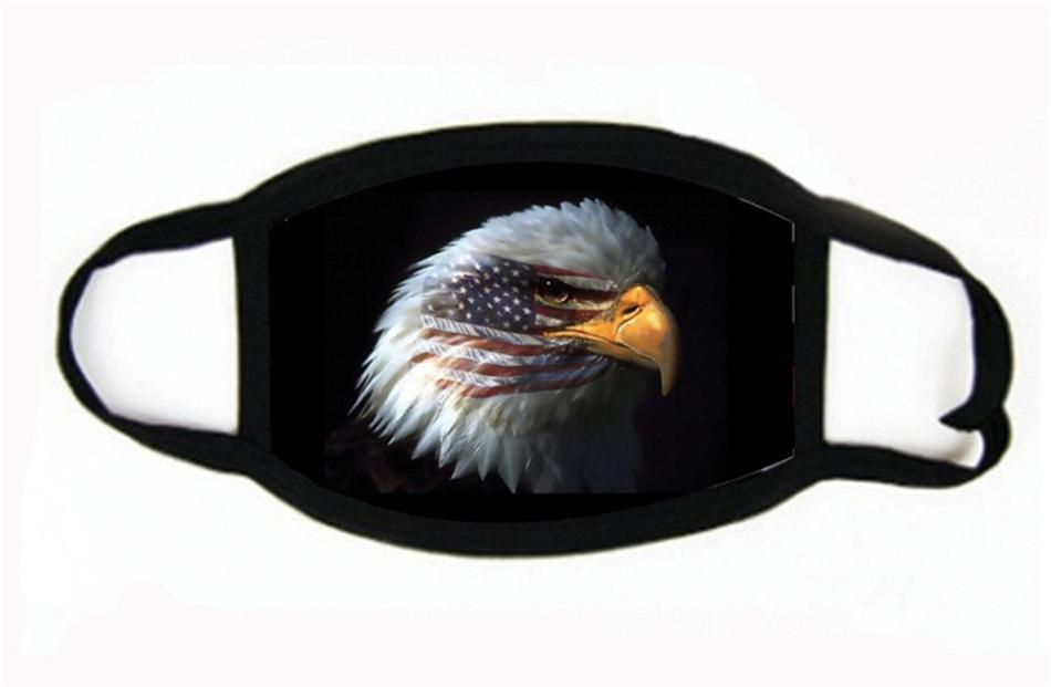Radfahren Maske im Freien Anti-Staub-Winddichtes Fahren Reisen US-Flagge Sport Erwachsene Maske # 767
