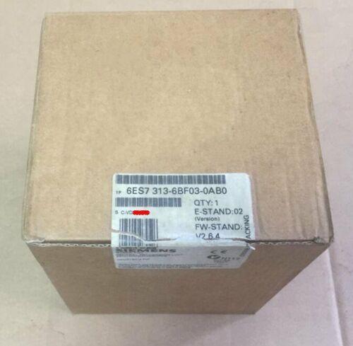 1шт NEW 6ES7 313-6BF03-0AB0 6ES7313-6BF03-0AB0 бесплатная доставка