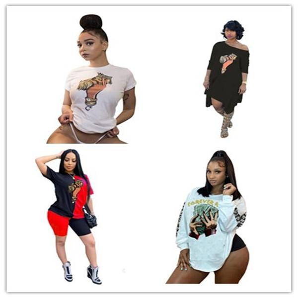 إمرأة مصمم الدولار بلايز هوت وول تيز للمرأة فساتين الصلبة اللون تي شيرت السيدات الساخن 2pecs مصمم أزياء صيف 2021 جديد وصول