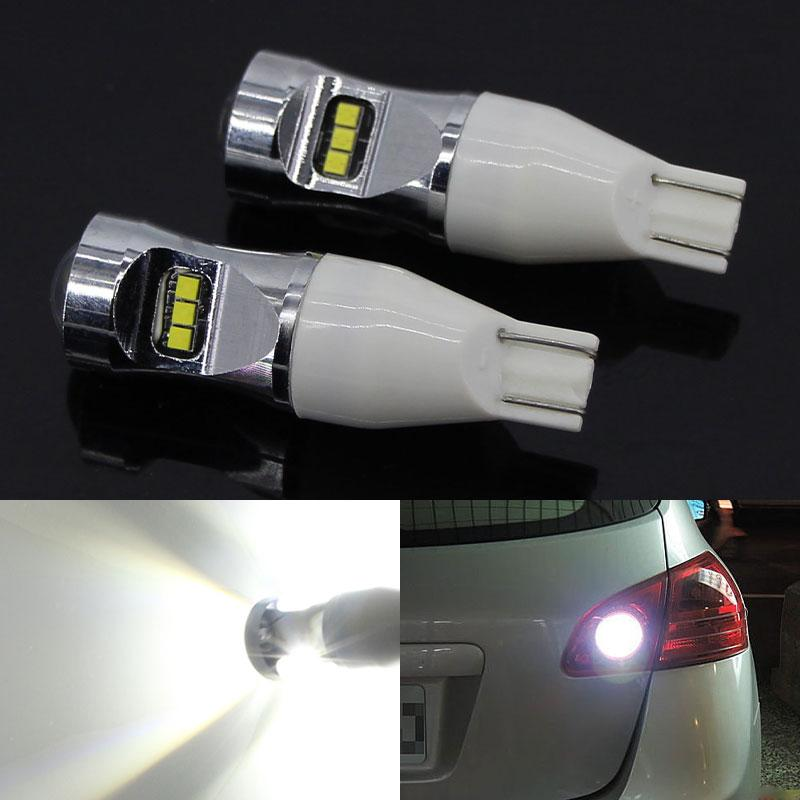 2 pezzi 921 912 lampada luminosa eccellente inversione luci di sostegno T15 ha condotto la lampadina Led W16W 6000K bianco 12V Auto in Juke 2011-2020