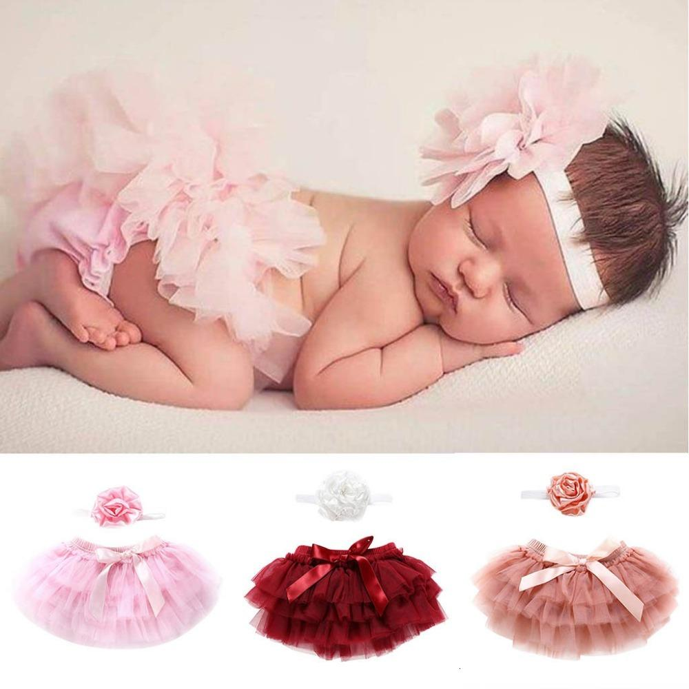 Clearance Newborn Infant Kids Baby Girl Bow knot Tulle Tutu dress +Headband Outfits Clothes 0116