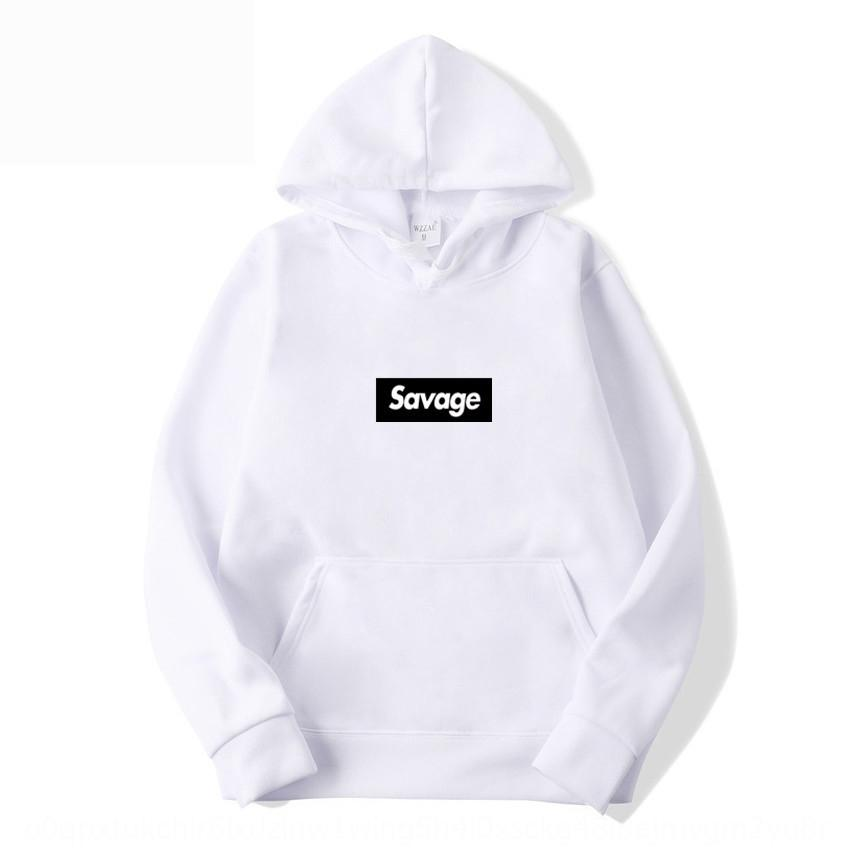 Otoño e invierno de la marca suéter de la moda salvaje carta jersey de hip hop generación suéter encapuchado par suéter yKQk4