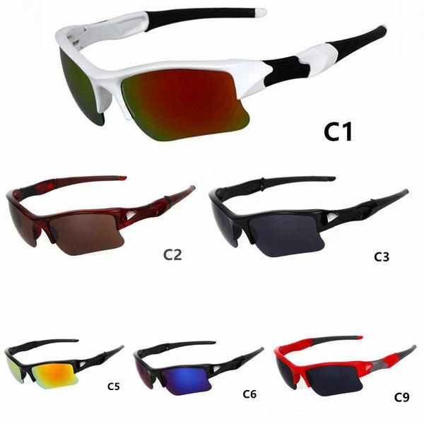 Frauen Sonnenbrille Klassiker 5pcs / lot Sport Neue Männer Mode Lieferung Sonnenbrille NEU! Freie Farbe vorhanden. Cgigm