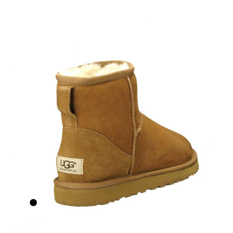 Top nieve de las mujeres botas de diseño ug genuino de la vaca de ante Australia cálidas botas de invierno clásicos zapatos mujer botas MUJER