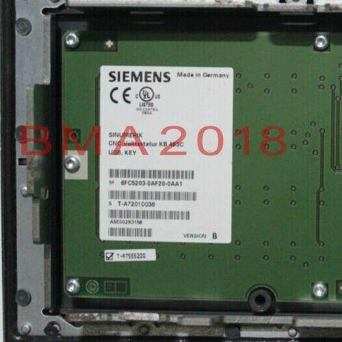 1PC Используется Siemens 6FC5203-0AF20-0AA1 испытаны в хорошем состоянии быстрой доставке
