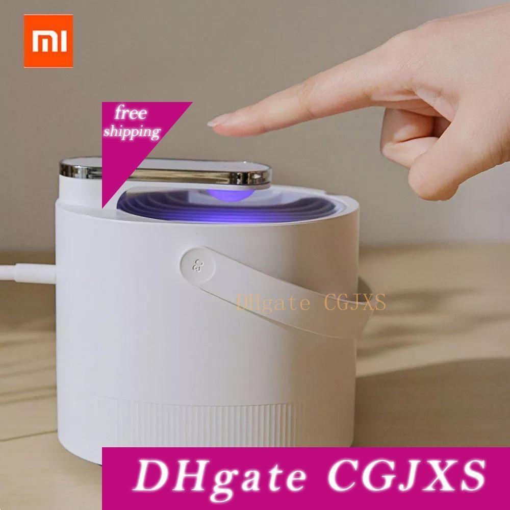 USB original de Xiaomi Mijia asesino del mosquito Lámpara eléctrica fotocatálisis repelente de mosquitos Insecticida Lámpara Trampa inteligentes UV Luz