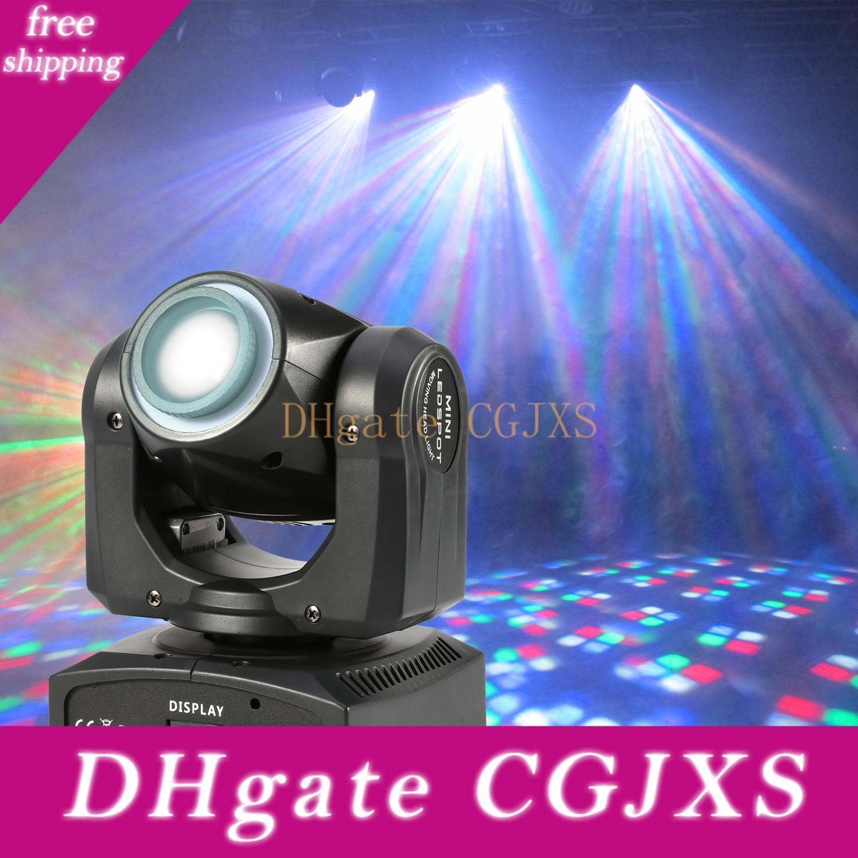 40W Quad Цвет светодиодный источник 12шт RGBW 0 .2w СМД DJ света Moving головного света с светодиодное кольцо