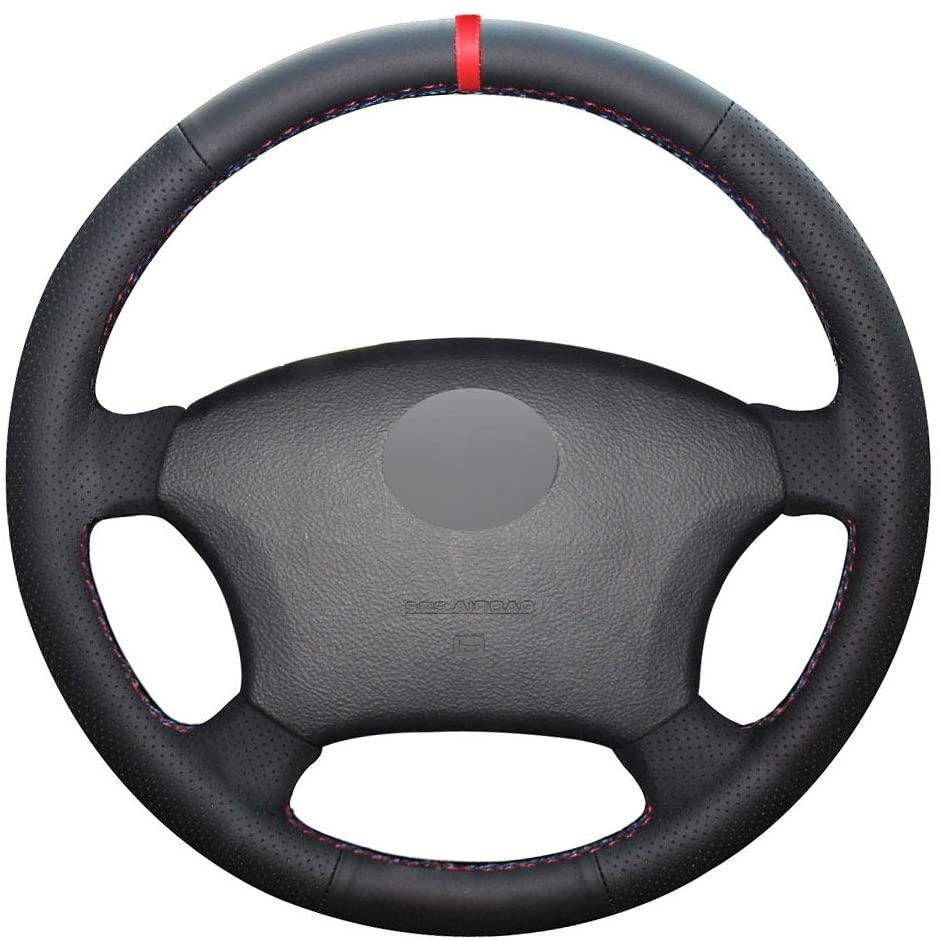 DIY Car Steering Wheel Cover para Toyota Tacoma 2005-2011 4Runner 2003-2009 Highlander 2004-2007 Sienna 2004-2010 Sequoia 2003-2007