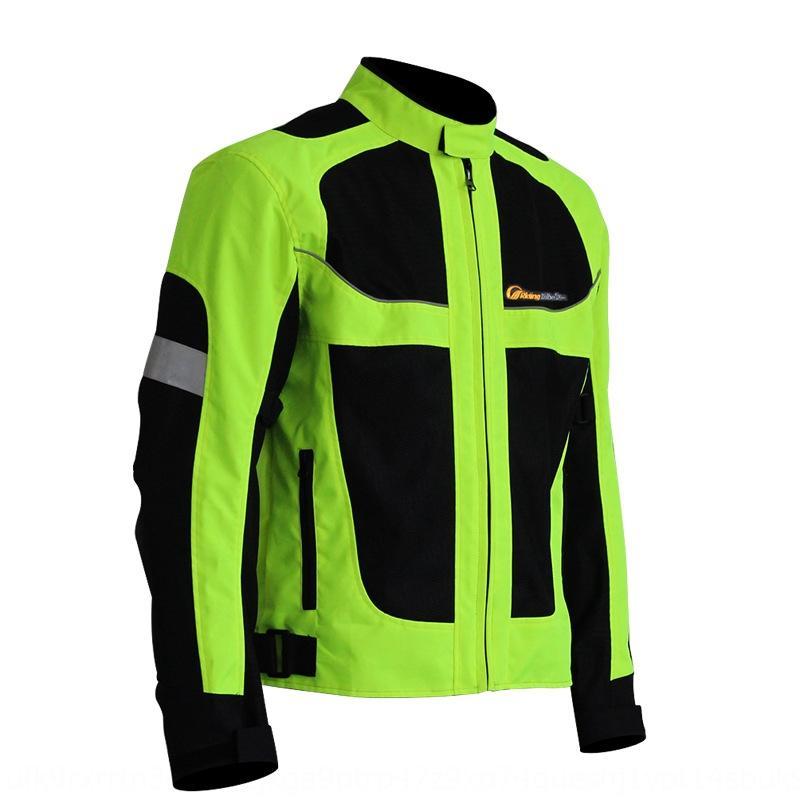 vestiti equitazione fluorescente di protezione moto caldo moto riflettente di avvertimento caldo traspirante anti-caduta giubbotto un uomo di protezione Gear