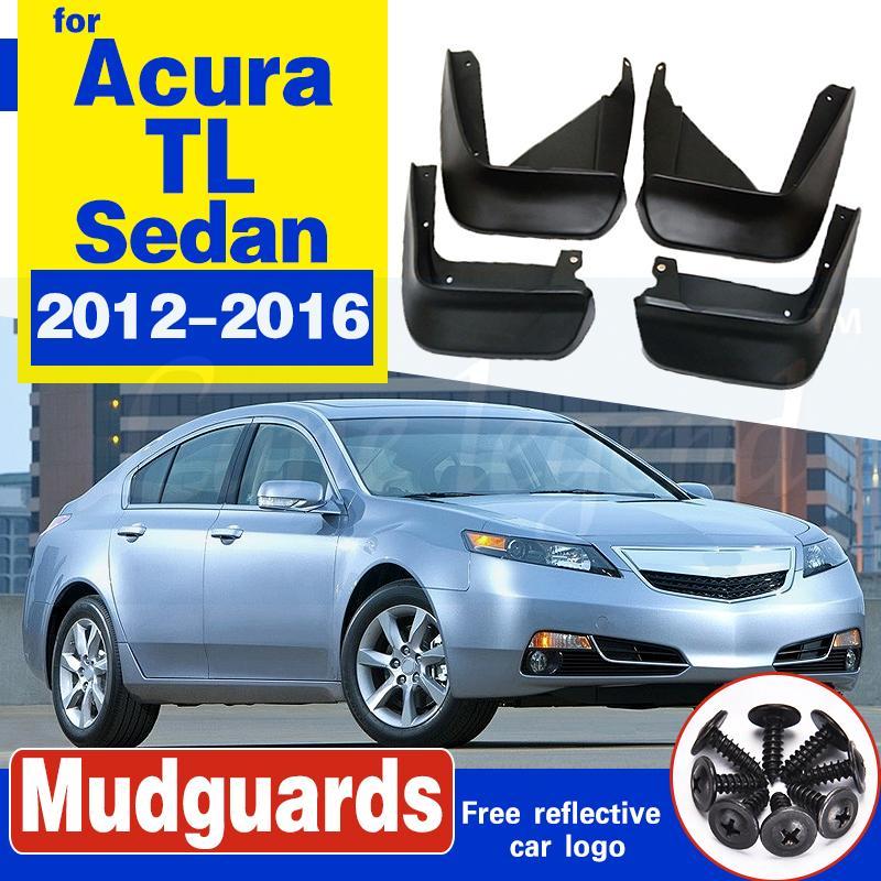 Voiture bavettes Pour Acura TL Sedan 2012 2013 2014 2015 2016 Garde-boue BOUE Garde-boue Fender Car Styling Accessoires